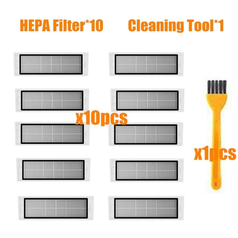 Hepa filtro para aspirador xiaomi, acessórios para xiaomi roborock s50 s51 s55 s5 max s6 xiaomi mi robot, peças do aspirador roborock