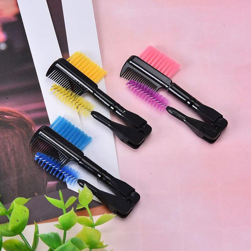 Фото - Щетка для макияжа, Складная расческа для ресниц, косметический инструмент для наращивания ресниц, кисти для макияжа бровей и ресниц косметический инструмент для макияжа