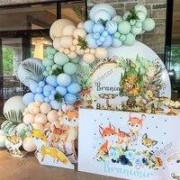 133pcs macaron blue green balloons garland arch kit metallic gold wedding birthday party decorations baby shower globos supplies