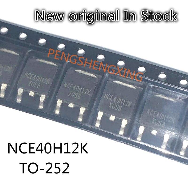 10PCS/LOT  NCE40H12K  40V 120A TO-252  New original spot hot sale