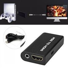 Convertisseur dadaptateur Audio vidéo vidéo PS2 vers HDMI avec sortie Audio 3.5mm pour HDTV