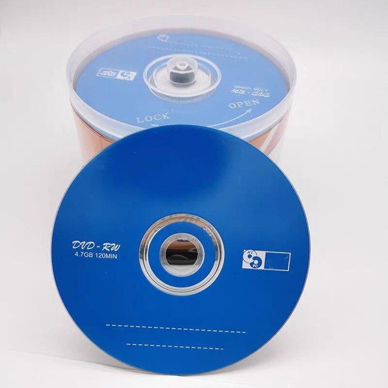 Venta al por mayor, 10 discos UPL azul impreso en blanco 4,7 GB 4X discos DVD RW