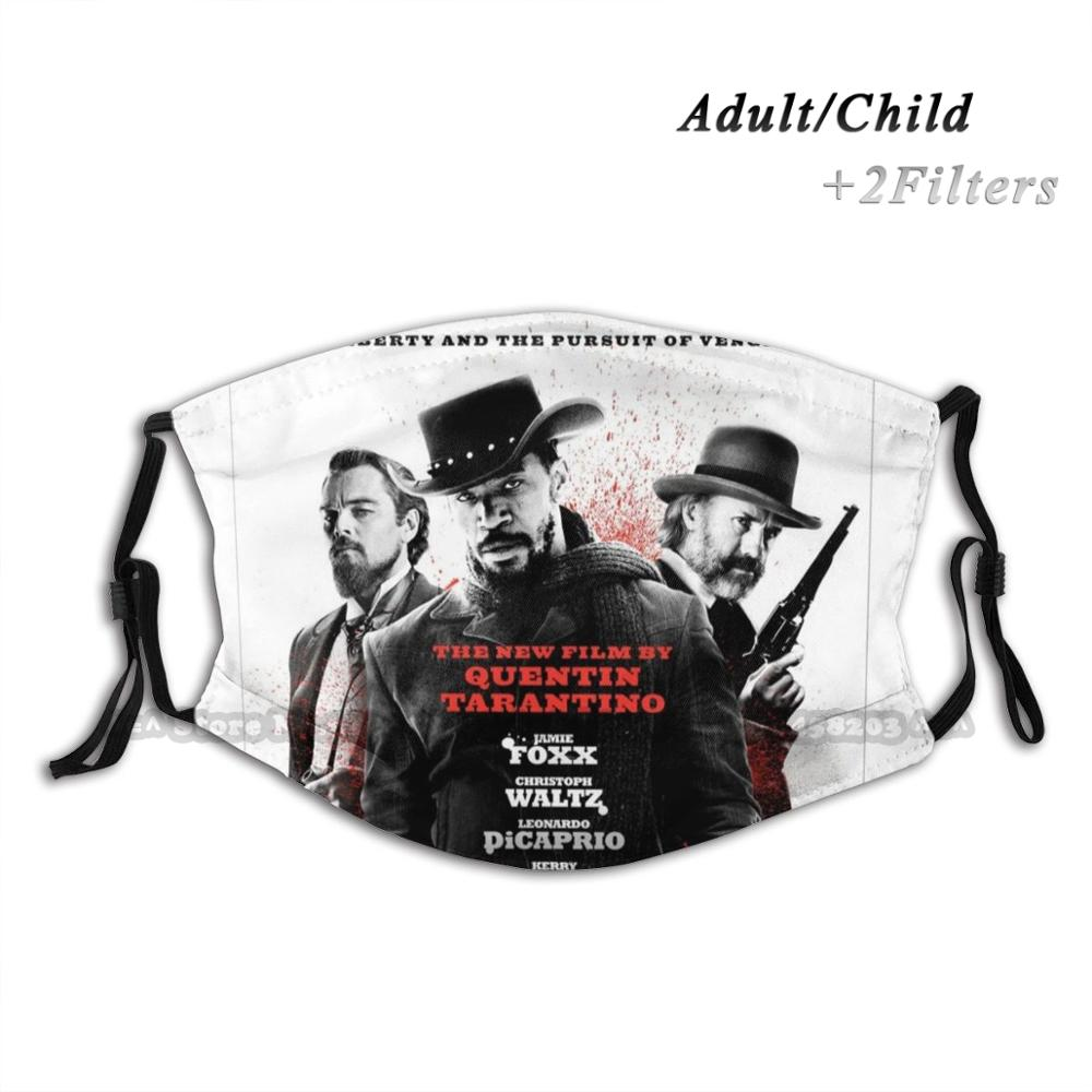 quentin-tarantino-django-unchained-reusable-face-mask-adjustable-washable-replaceable-fashion-fase-masks-quentin-tarantino