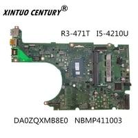 nbmp411003 da0zqxmb8e0 acer aspire r3 471t laptop anakart sr1ef i5 4210u ddr3 100 test