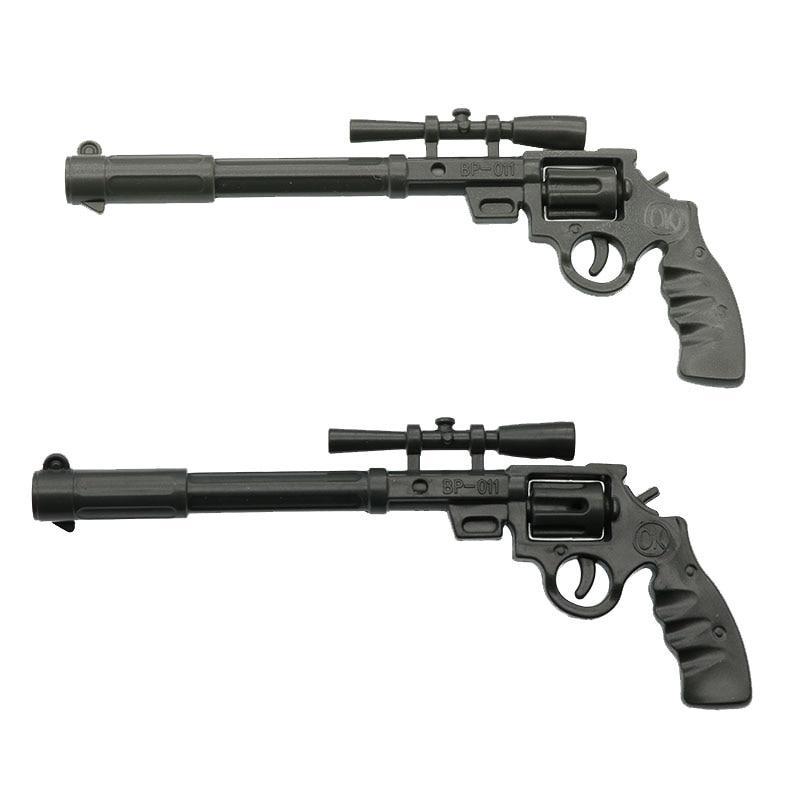 2 pçs roscoe cinco shooter gun caneta novidade papelaria bonito engraçado kawaii esferográfica caneta material escolar canetas