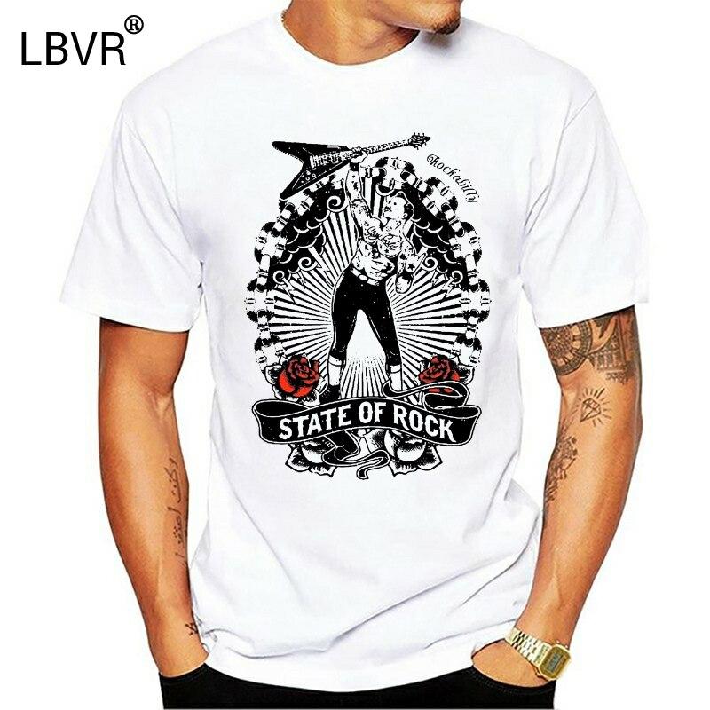 2019 Fashion Hot T-Shirt Rockabilly 50er Jahre 50`s Retro Vintage Rock n Roll Tattoo Skull 1346 T shirt