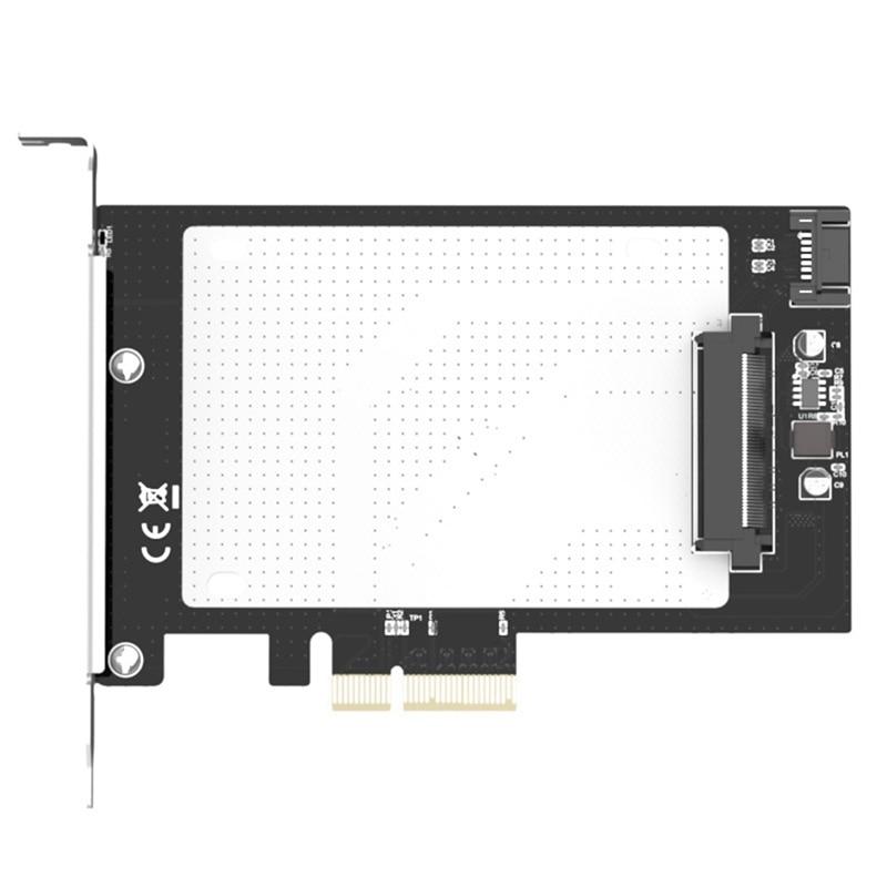 PCIE 3.0 X4 to U.2 SFF-8639 Adapter Card U2 SSD GEN3 Card PCI-E Expansion Card X4 to 2.5Inch SATA Riser Card недорого