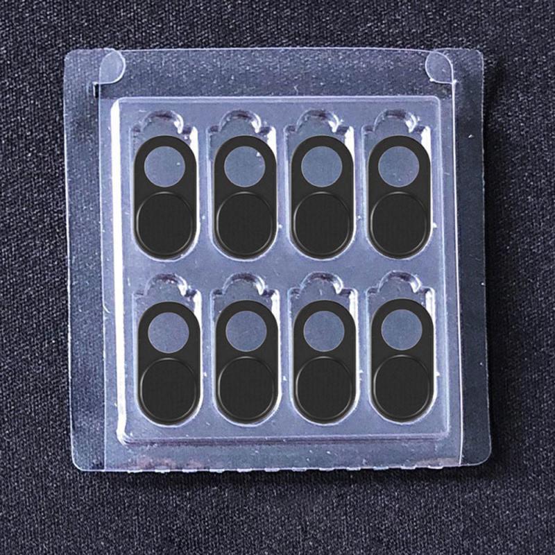 8 قطعة كاميرا ويب مصراع غطاء كاميرا ويب آمنة حماية الخصوصية لسطح المكتب المحمول الهاتف كاميرات عدسة حماية الملحقات الذكية