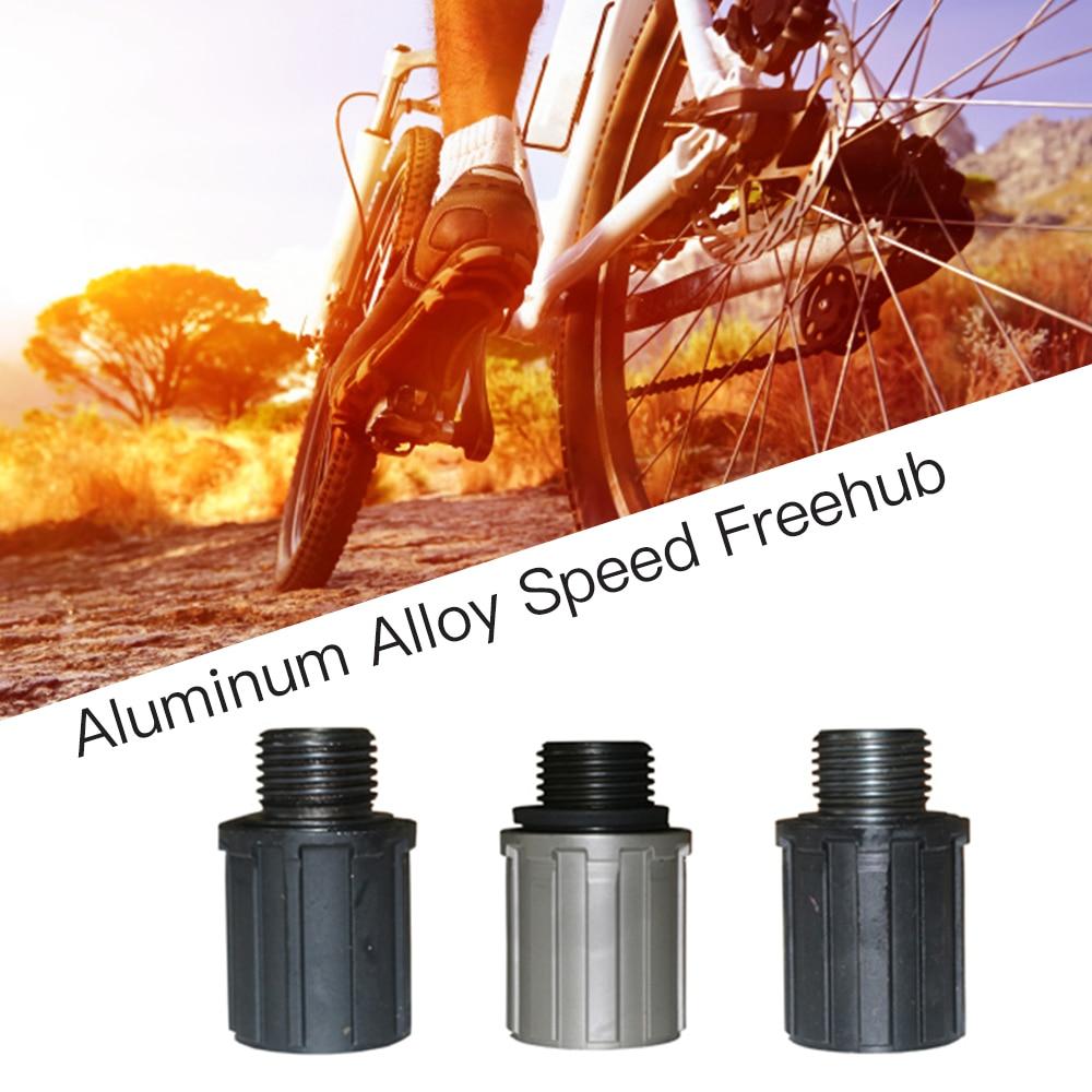 MTB bicicleta de Ciclismo de 8-10/11 velocidad Freehub aleación de aluminio Kit de rodamiento de bolas de titanio negro Freehub para bicicletas de velocidad 8/9/10/11