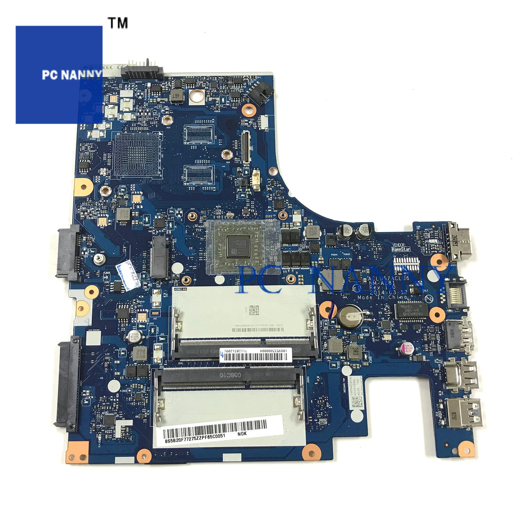 PCNANNY für LENOVO G40-45 Laptop motherboard NM-A281 A6-6310 DDR3 getestet