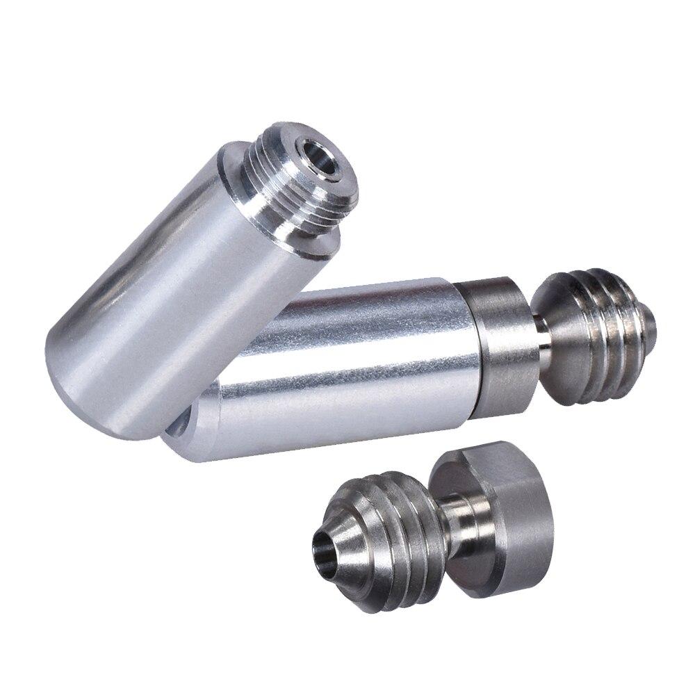 MK10 цельнометаллический комплект Hotend 1,75 мм, конвертер, тепловая трубка, швейцарские тепловые пробойки, высококачественные детали для 3D-прин...