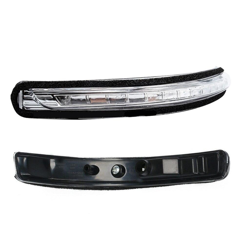 Автомобильные светодиодные боковые поворотные сигналы для зеркала заднего вида, ламсветильник с ретранслятором левого и правого боковых к...