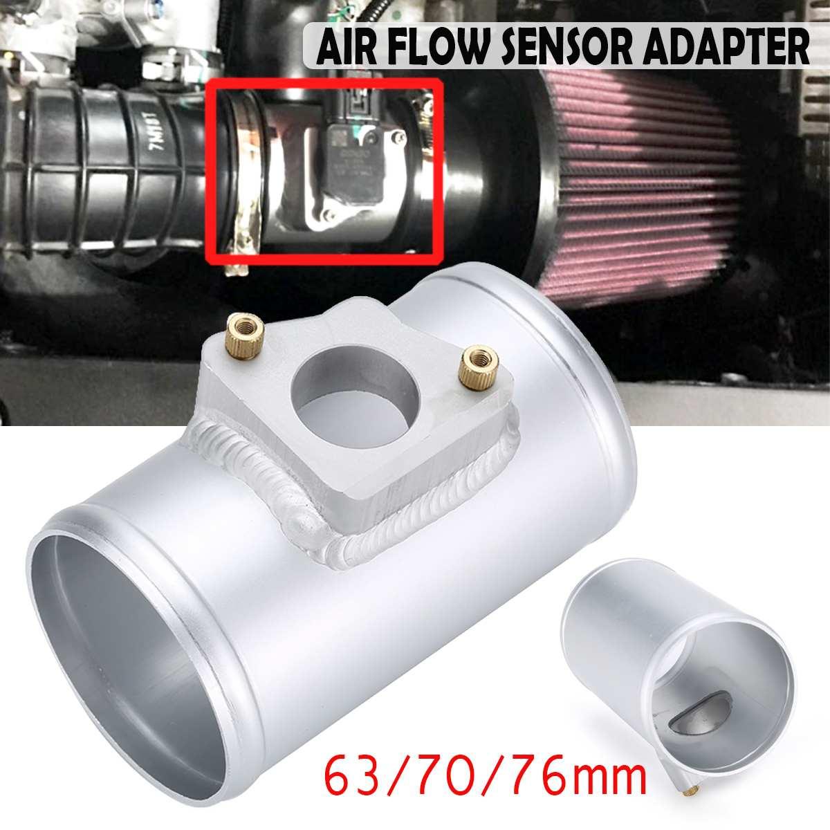 Adaptador de Sensor de flujo de aire montaje de medidor de admisión de aire 63 70 76mm para TOYOTA para MAZDA 3 6 para SUBARU SUZUKI JIMNY MAF