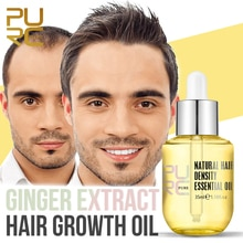 PURC Ginger Essence Hair Growth Products Fast Regrowth Oil Serum Hair Loss Medicine Enhancer Care Be