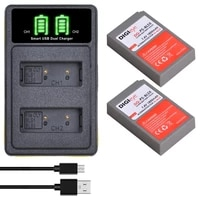 bls 5 bls 50 ps bls5 battery led dual charger w type c for olympus om d e m10 pen e pl2 e pl5 e pl6 e pl7 e pm2stylus 1