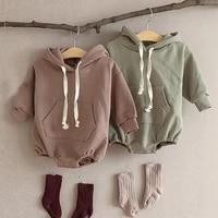 infant baby girl boy jumpsuit winter autumn fashion children toddler long sleeve romper playsuit jumpsuit newborn cotton overall