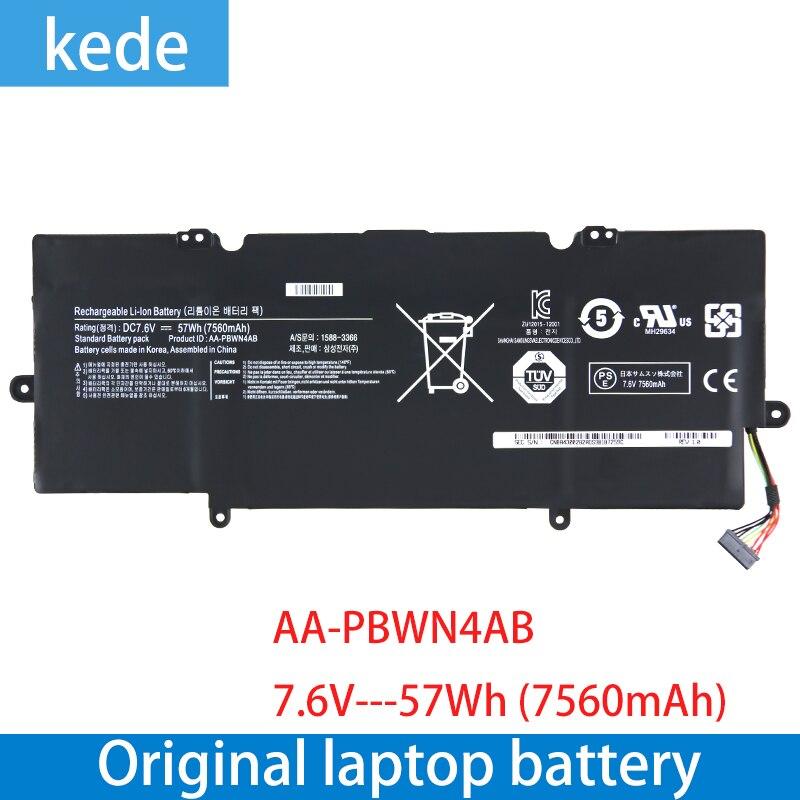 Kede, nueva batería Original de ordenador portátil para 540U Series 530U4E-K01 NP503U4E, NP530U4E-K01, baterías recargables de AA-PBWN4AB, 7,6 V, 7560mAH