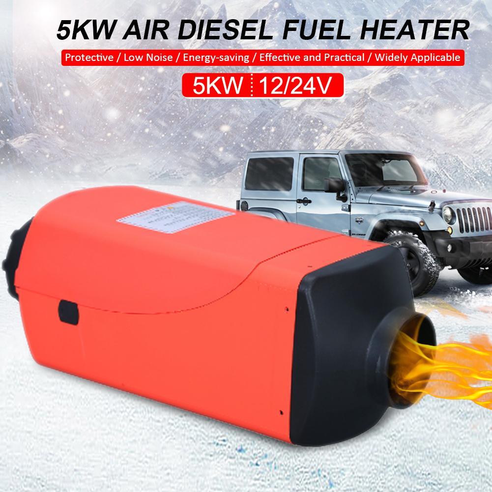 Machine de chauffage de mazout dair de réchauffeur de carburant de voiture de moniteur daffichage à cristaux liquides de 12V/24V 5KW pour des bateaux dautobus de camions
