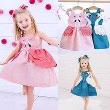 Birthday Outfit Girl Princess Party Baby Tutu Dress Backless Toddler Girl Sweet Swan Dress Cute Litt