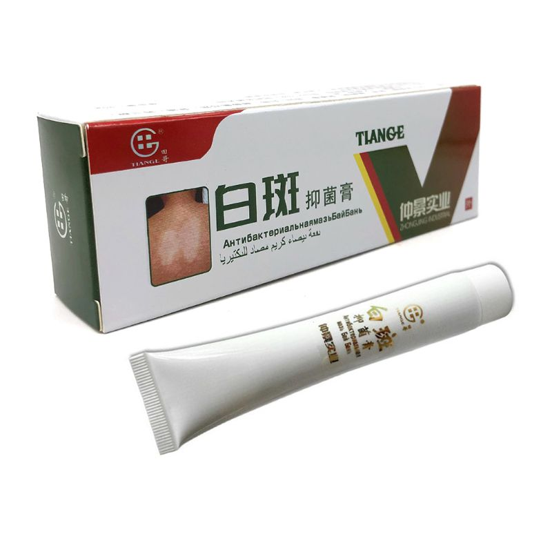 Crema médica para enfermedades de manchas blancas, 30g, pigmento Vitiligo pomada para tratamiento