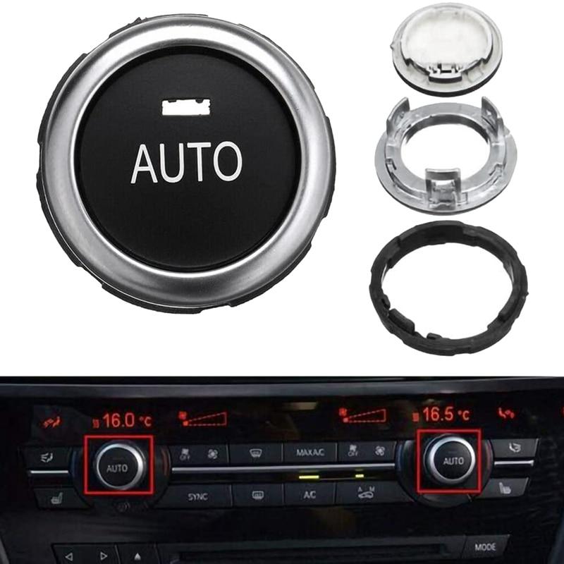 Bouton de réglage de la température de voiture A/C bouton de climatisation pour-BMW 5 6 7 série X5 X6 F10 F07 F11 F01 F15 F16