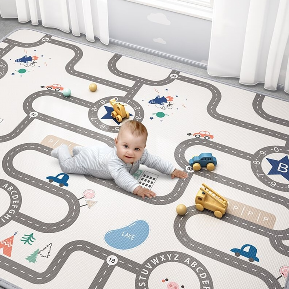 baby developing mat for newborn non toxic soft xpe foam baby climbing pad foldable activity gym for children playground kids rug Thicken Non-toxic Xpe Cartoon Baby Play Mat Puzzle Children's Mat Baby Climbing Pad Kids Rug Baby Games Mats Toys for Children