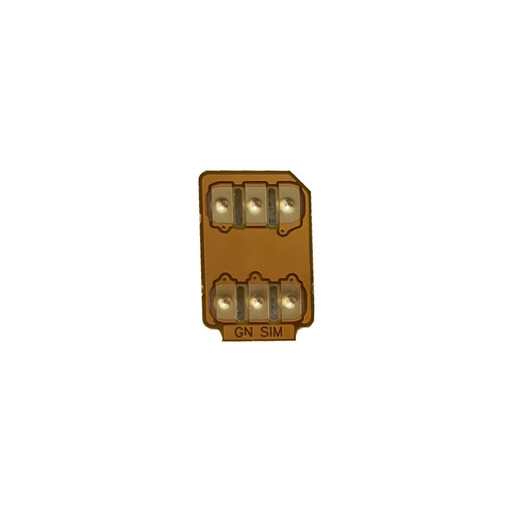 GNSIM Unlock Sim Chip Auto Pop-up Menu GN SIM PERFECT ICCID Card for iP 6S 7 8 X XS XR XSMAX 11 Pro 12 DHL FREESHIPPING enlarge