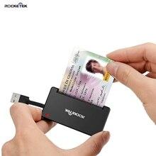 Rocketek USB 2,0 считыватель смарт-карт CAC Id Bank sim-карта cloner разъем кардридер адаптер ПК компьютер ноутбук аксессуары