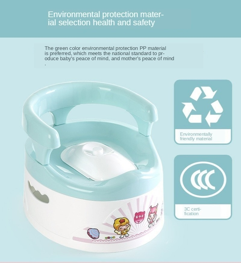 Cartoon Children's Toilet Baby Toilet Urinal Potty Kids Toilet Seat  Urinal  Baby Potty  Portable Toilet  Potty Chair  Stool