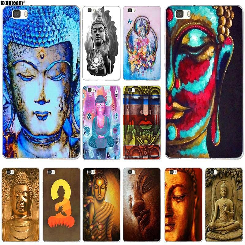 Buda Buddha Soft TPU Silicon Mobile Phone Cases for Huawei P8 P9 P10 P20 Lite Mate 10 Pro Y5 Y6 II Y7 Honor 6X 7X 9 Lite Shell
