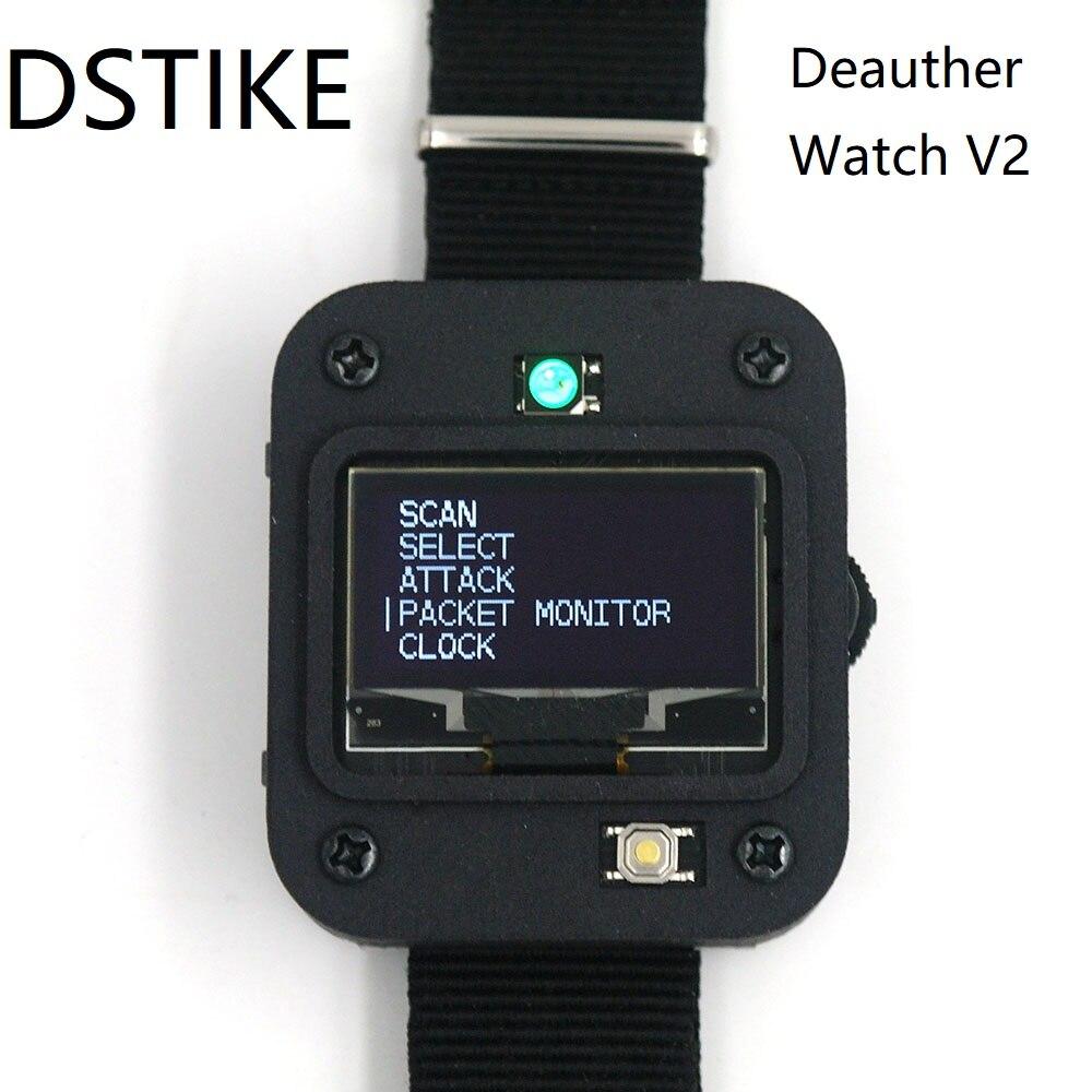 DSTIKE Deauther Watch V2 ESP8266 Programmable Development Board   Smart Watch   Arduino   NodeMCU    I2-009