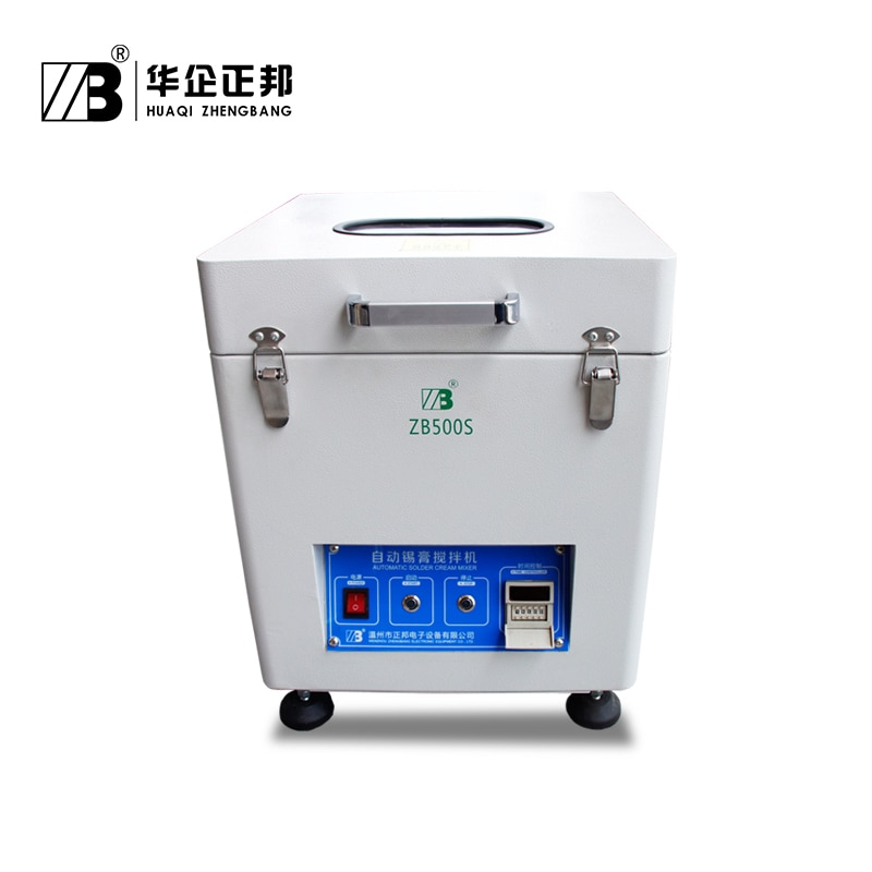 High quality  solder paste mixer / Solder paste mixing machine with 0--500g*2tanks