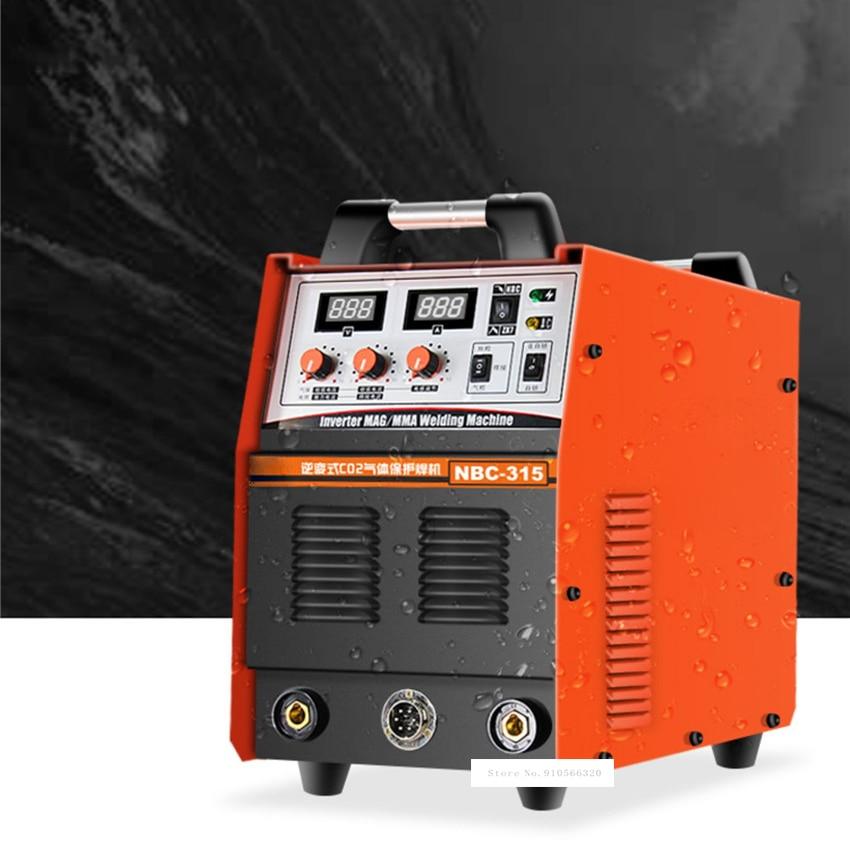 NBC315 سبليت نوع الغاز حماية آلة لحام غاز ثاني أكسيد الكربون الكهربائية محمية لحام Cogas واقية لحام 220 فولت-380 فولت