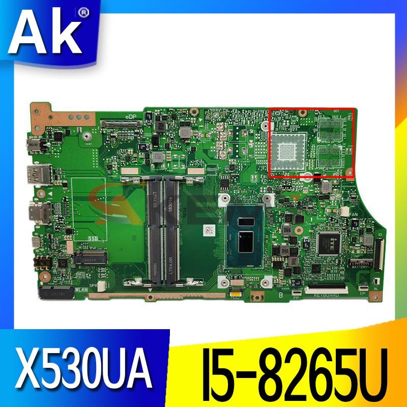 ل ASUS VivoBook S15 S530U S530UA X530U X530UA X530UN المحمول اللوحة الرئيسية ث/I5-8265U وحدة المعالجة المركزية GM X530UA الأصلي اللوحة الرئيسية