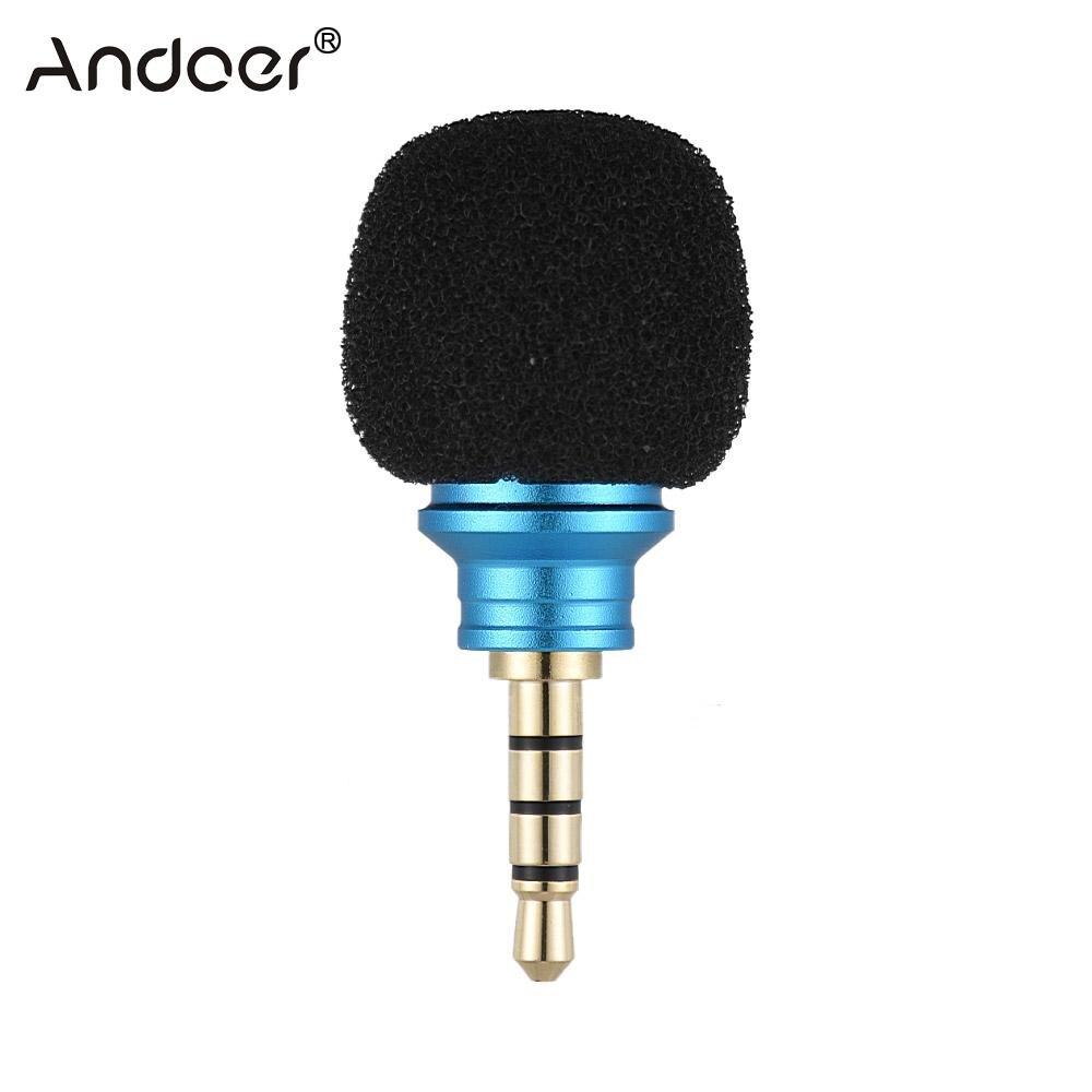 Andoer EY-610A мобильный телефон смартфон портативный мини всенаправленный микрофон Микрофон для рекордера для iPhone 5 6 Samsung Huawei