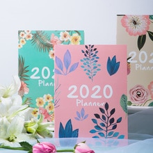 Organisateur de planificateur, agenda 2020, cahier en A4, journal de bricolage, Plan en 365 jours, Kawaii, agenda hebdomadaire mensuel