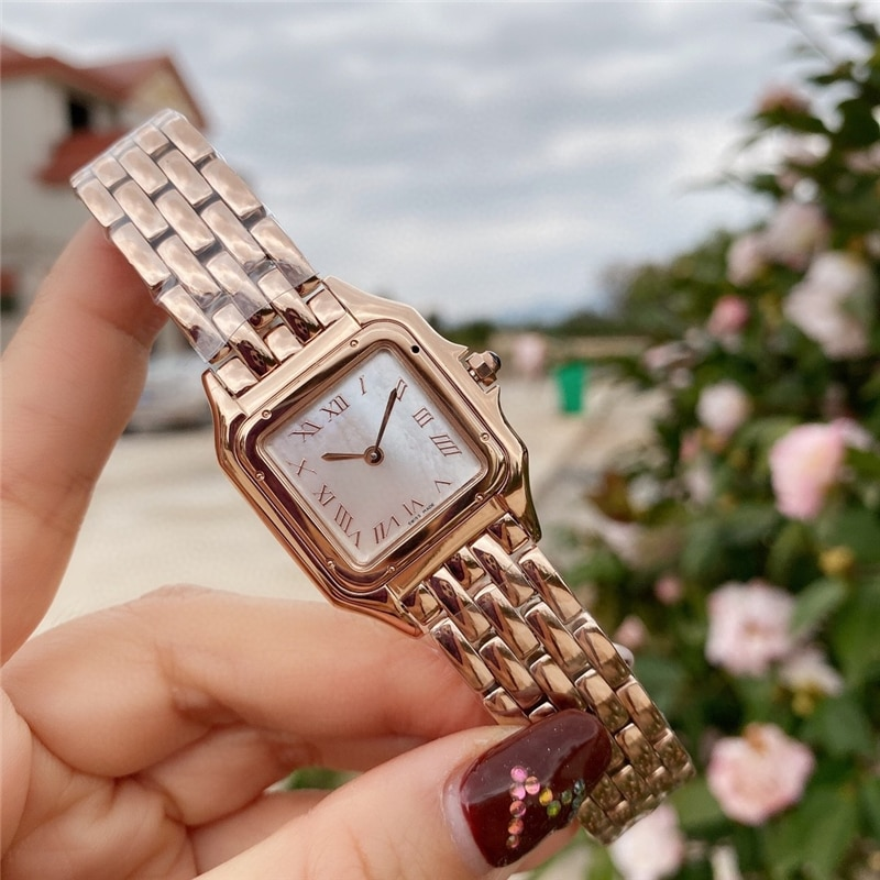 brand C watches thin watch 316L stainless case import movement high quality quartz rose gold watch for woman enlarge