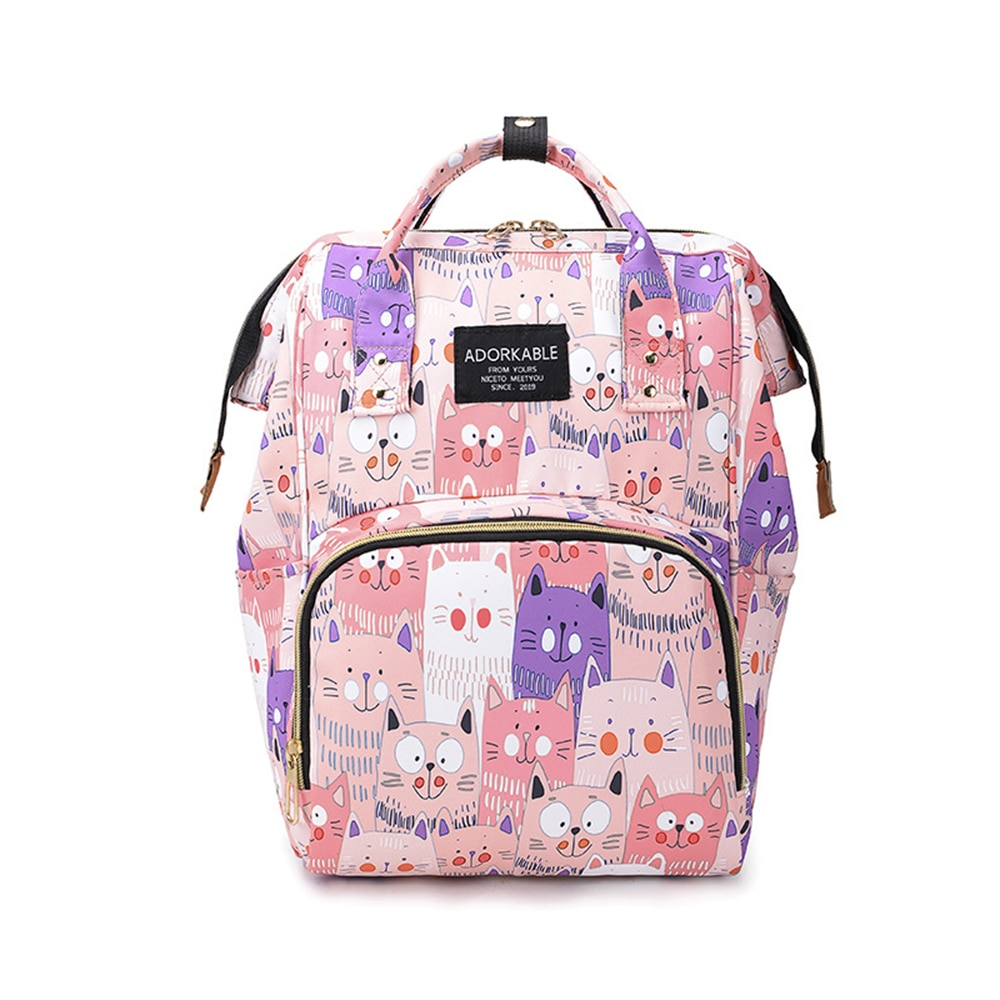 Newest Fashion Baby Diaper Bags Mommy Maternity Nappy Bag Backpacks Maternity Bags Large Capacity Travel Bags Backpack For Mom