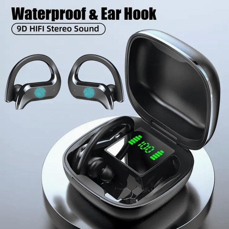 2021 TWS Wireless Headphones Bluetooth 5.0 Earphones Noise Canceling Headphones Mini Headsets Touch