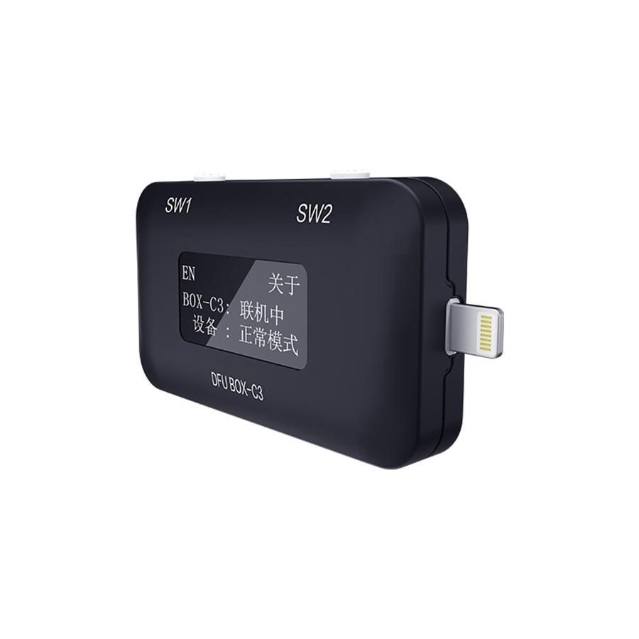 JC B-BOX C3 مفتاح واحد الأرجواني وضع آيفون & باد إفتح واي فاي تعديل NAND Syscfg البيانات آيفون A7-A11