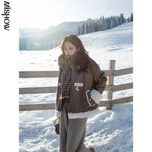 CMAZ 2020 Winter Parkas For Women Warm Outdoor Fashion Warm Thickening Outerwear Casual Female Overc