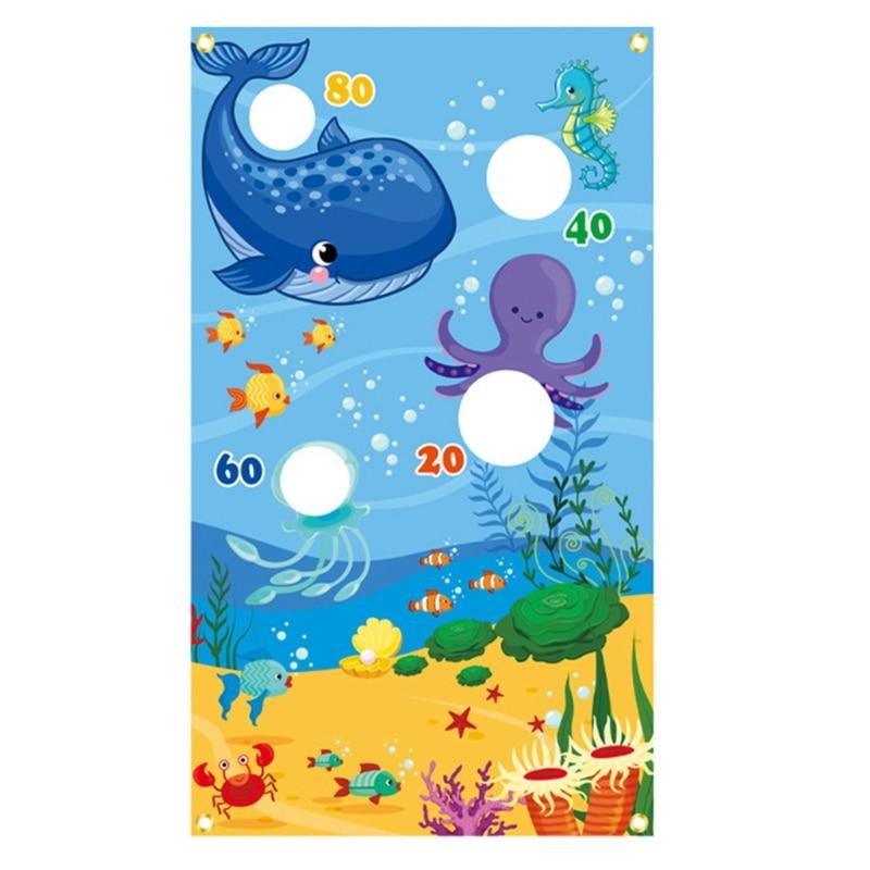 T5EC цирк, Рождественский мешок для песка, игровые флаги, животные, метательные подвесные флаги, открытый мешок для песка, игровые флаги, забав...