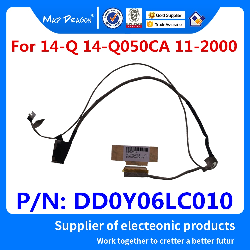 New original Laptop LCD LVDS Cable LCD Video Cable For HP ChromeBook 14-Q050CA 14-Q 11-2000 DD0Y06LC