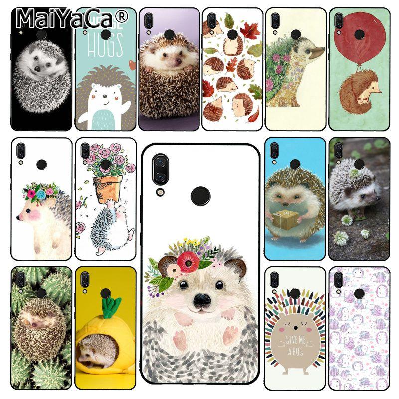 MaiYaCa Animal cute cartoon hedgehog painting     Phone Case for Xiaomi Redmi8 4X 6A 9 8A Redmi 5 5Plus Note7 8Pro 7A 6A 9 9pro
