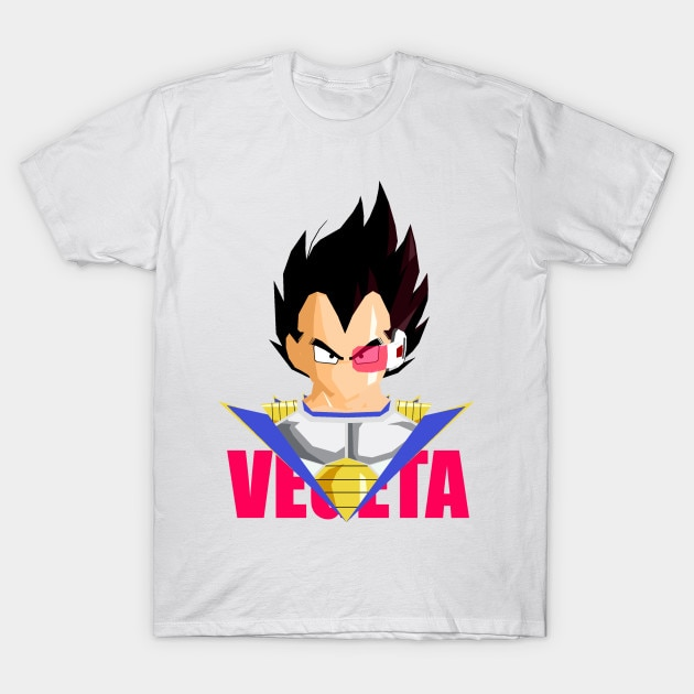 Camiseta para hombre VEGETA Scouter camiseta para mujer