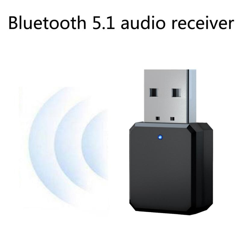 KN318 Wireless Bluetooth 5.1 Receiver Transmitter Digital Display Adapter For PC TV Car Accessories
