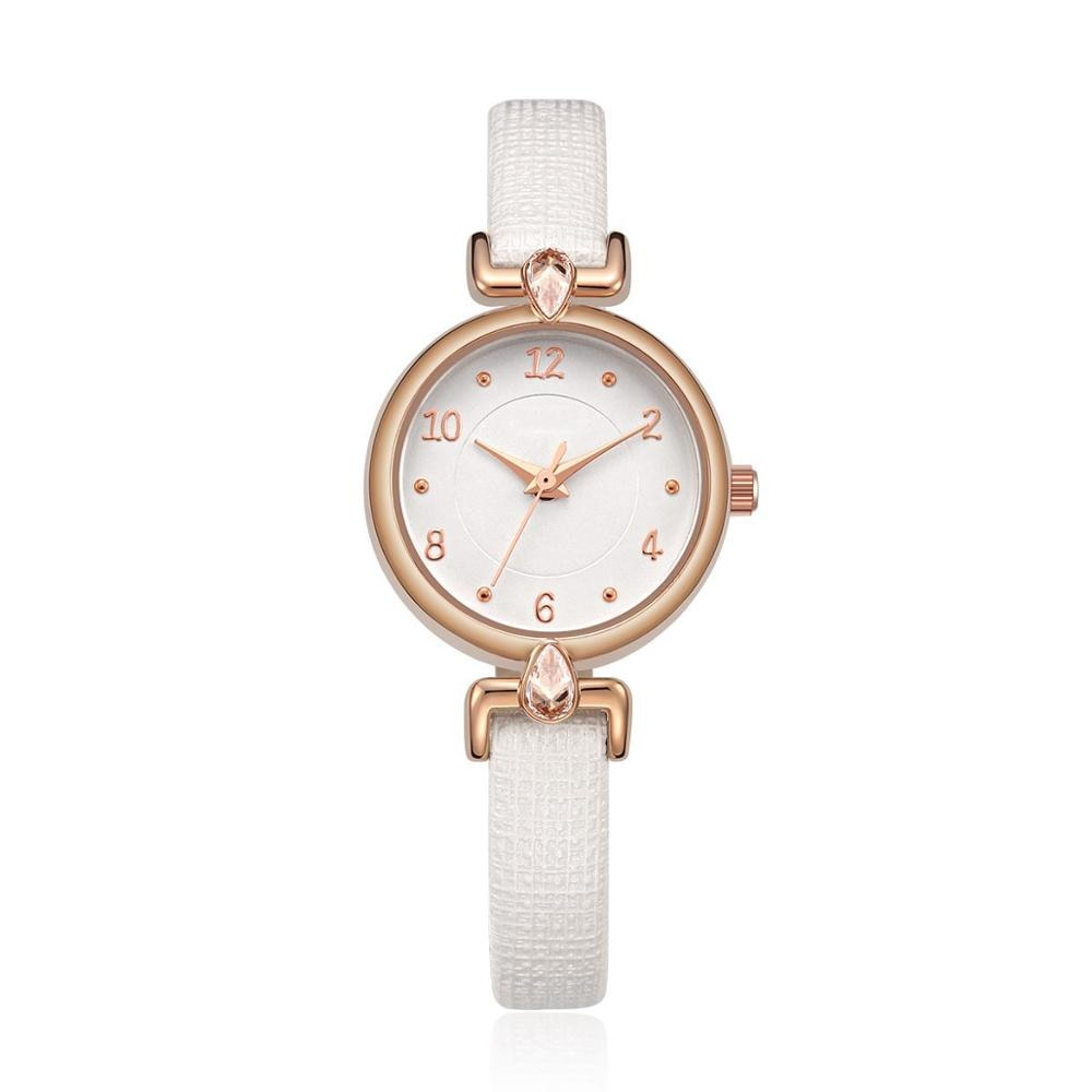 2021 العلامة التجارية ساعة الموضة النساء سوار فاخر ساعة اليد Relogio Feminino على مدار الساعة NO.2