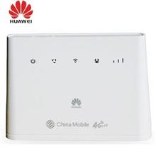 Entsperrt Huawei B310As-852 LTE FDD 900/1800/2600Mhz TDD 1900/2300M/2500/2600 mhz Mobile Wireless VOIP Route + 2pcs 4g B310 antenne