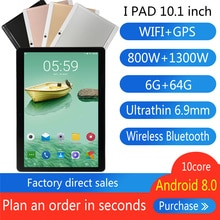 2021 The latest 10-inch tablet 6GB RAM 64GB/128GB ROM 4G LTE 13.0/8.0MP 1280X800 Android 8.0 tablet