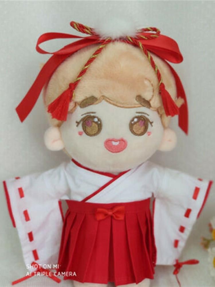 Cosmile hecho a mano muñeca Kikyo ropa traje de Miko Cosplay Kimono Mikofuku limitado juguete accesorio lindo regalo